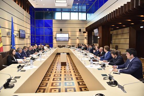 11.06.2018 Reuniunea Comisiei Comune pentru Integrare Europeană dintre Parlamentul Republicii Moldova și Parlamentul României