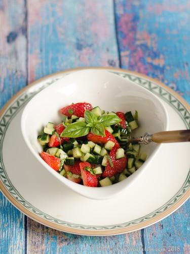 Erdbeer-Gurken-Salat (1)