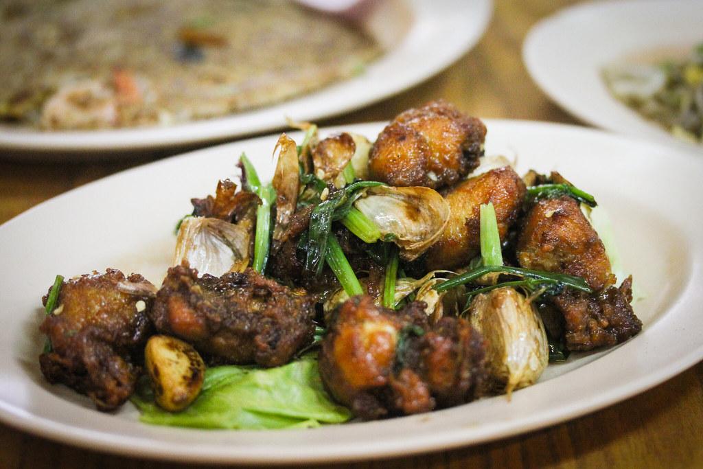 Hao Kee Seafood Deluxe Garlic Chicken