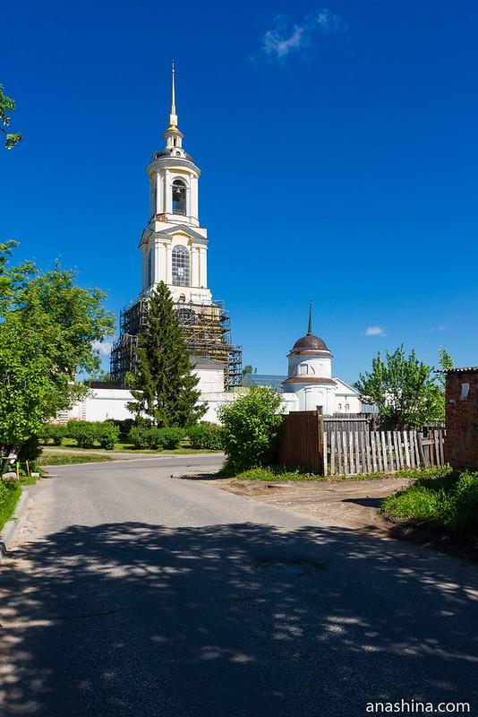 Преподобенская колокольня Ризположенского монастыря, Суздаль