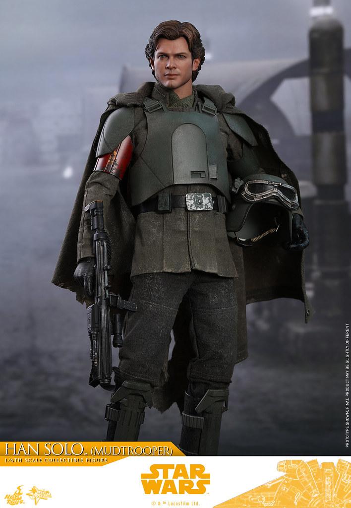 Hot Toys - MMS493 -《星際大戰外傳:韓索羅》韓·索羅 (泥沼士兵) Han Solo (Mudtrooper) 1/6 比例人偶作品