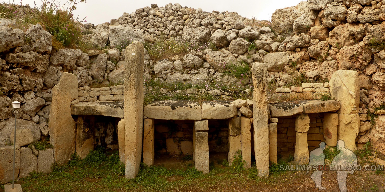 0304. Pano, Templos de Ggantija, Xaghra, Gozo
