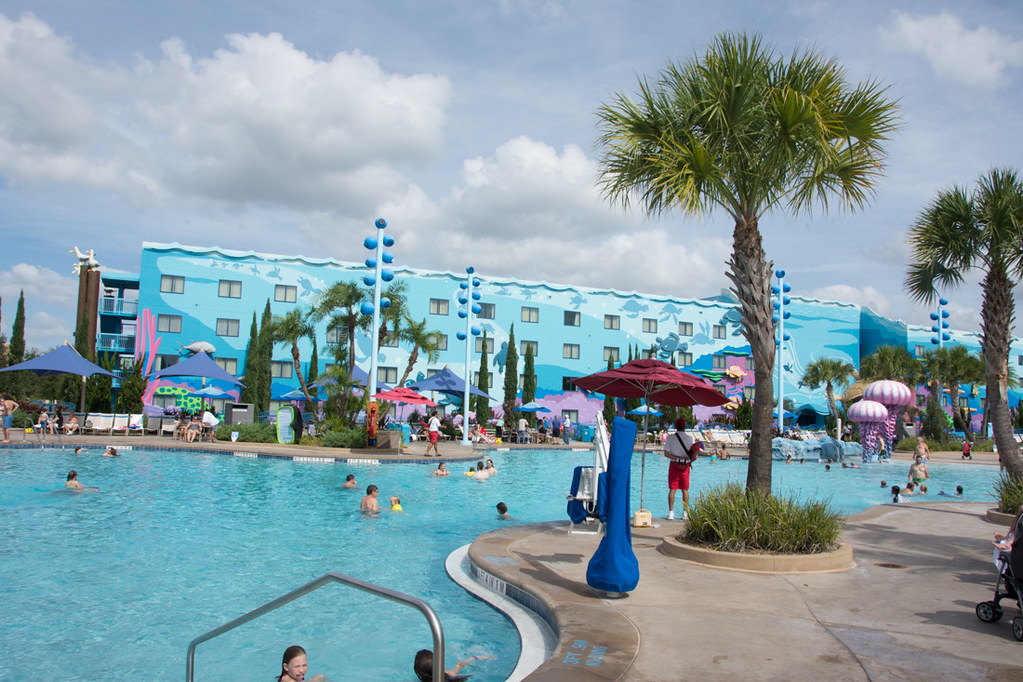 Pool area at Art of Animation Disney Resort