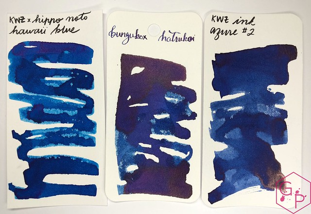 KWZ Ink Hawaii Blue Ink Review 5