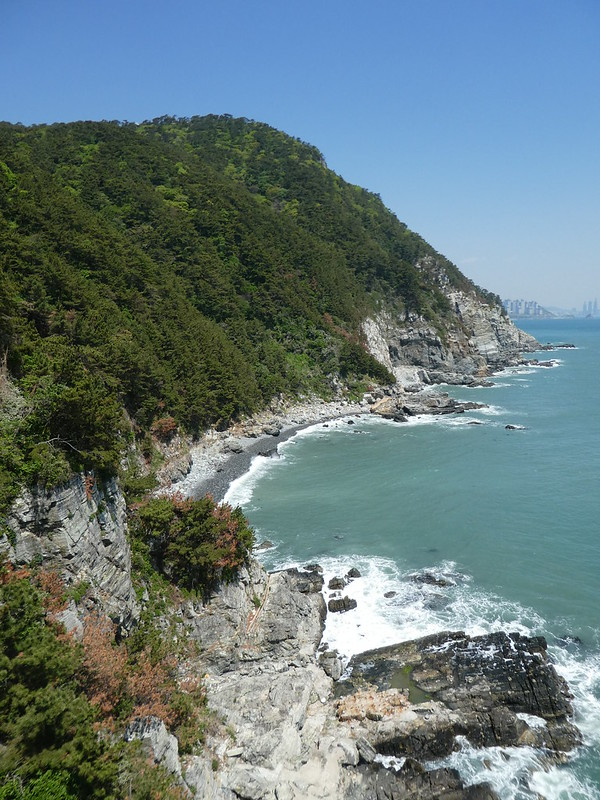 View down from theYeongdo Lighthouse., Busan