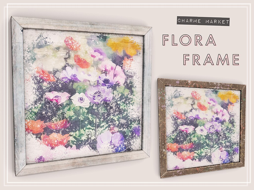 flora frame gift