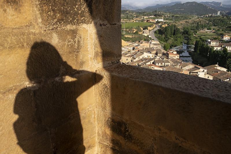 Mi sombra en Valderrobres