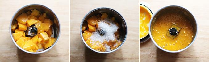 How to make mango fool recipe - Step1