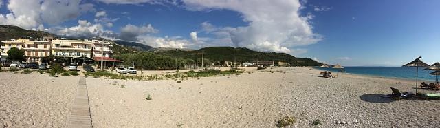 Himare Beach Pano 01