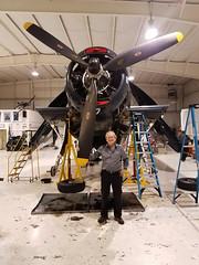 Warbird maintenance, Capital Wing CAF, Culpepr Virginia.