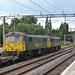 Class 86s at Northampton