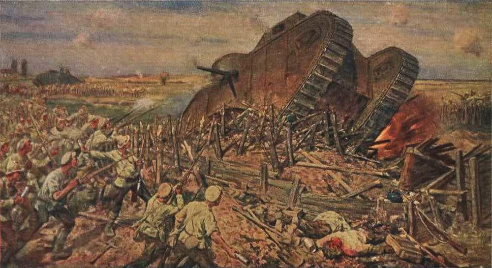 俄国内战与革命的写实绘画13