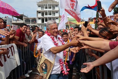 Gira de Andrés Manuel López Obrador en Guerrero