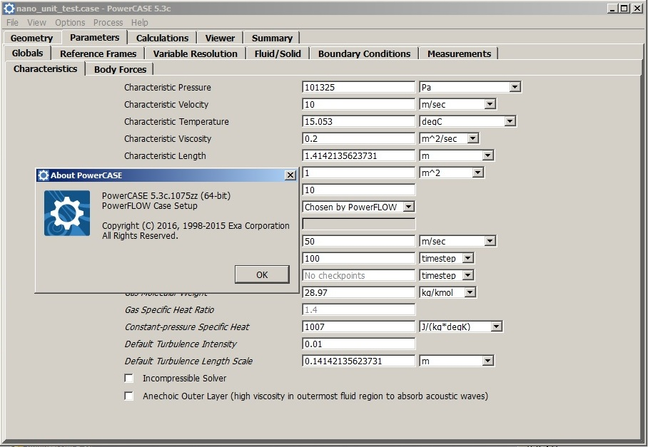 Working with Exa PowerFLOW 5.3c - powerCASE full license