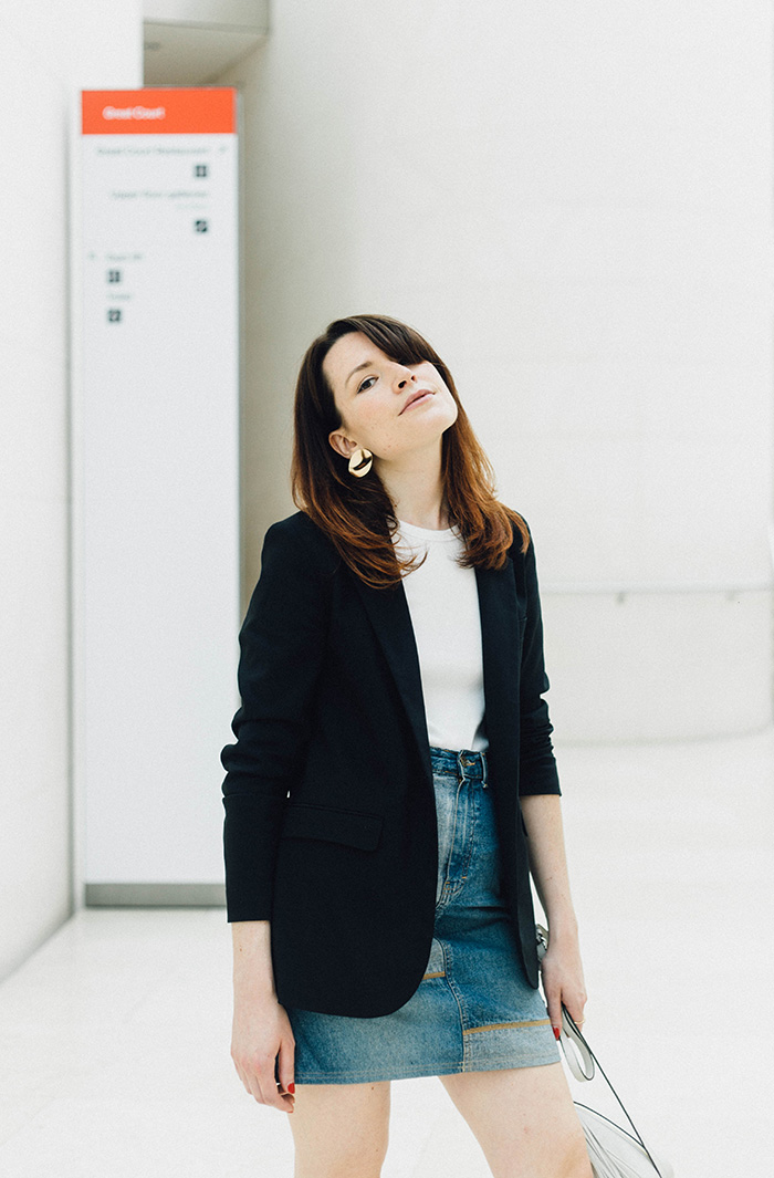 Baukjen Ashcroft Blazer | UK Fashion blogger | How to style a black blazer