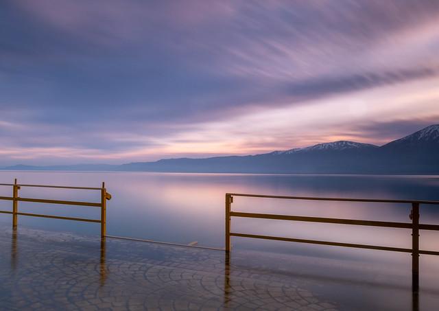 Lake Ohrid Sunrise, Fujifilm X-T2, XF16-55mmF2.8 R LM WR