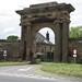 Crofton Hall Archway, Thursby, Cumbria, UK