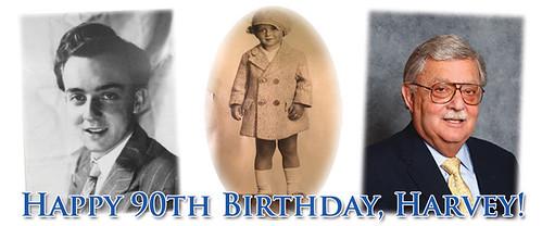 Happy 90th Birthday harvey Stack