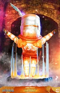 太陽萬歲!First 4 Figures《黑暗靈魂》「太陽戰士」亞斯特拉的索拉爾 SD版(SOLAIRE OF ASTORA SD)豪華版/讚美太陽版