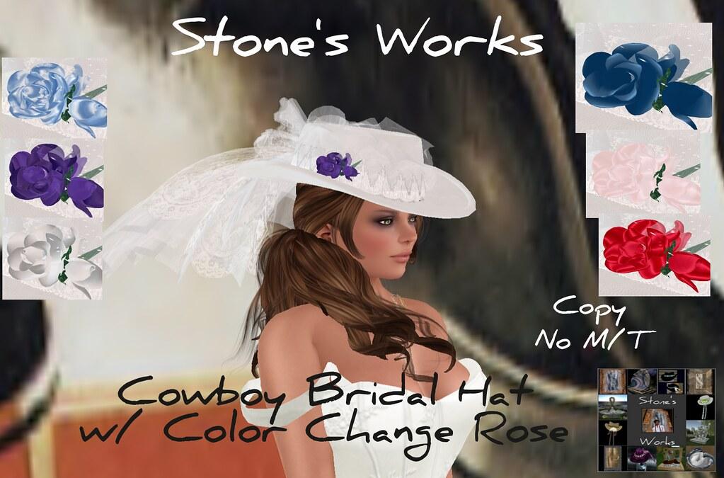 CB Hat Bridal Hat Multi