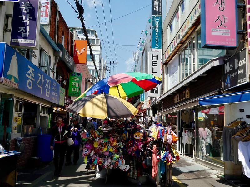 Gukje Market, Nampo, Busan
