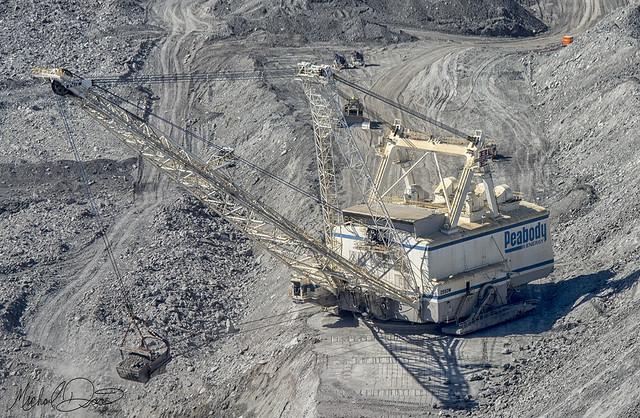 Peabody Energy Bucyrus Erie 2550W (Bear Run Mine)