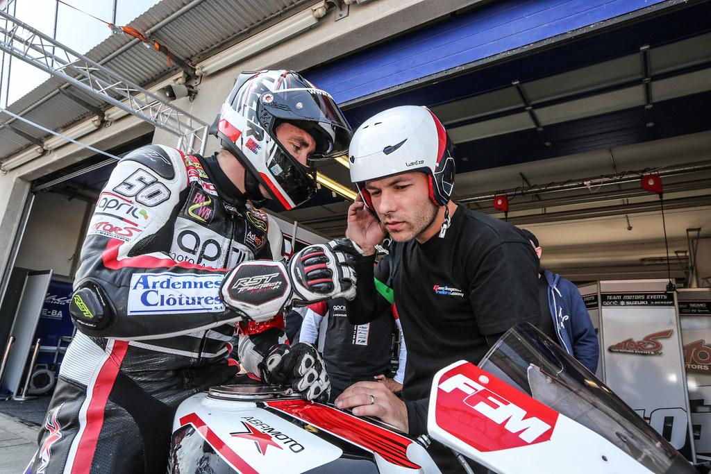 8,Hours,Oschersleben,2018,N 50 Team April Moto Motors Events, Lagrive Matthieu, Guittet Baptiste, Fastre GréGory