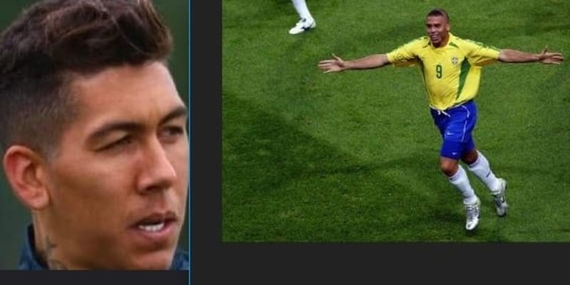 Firmino Pernah Ikutin Model Rambut Ronaldo di Piala Dunia 2002