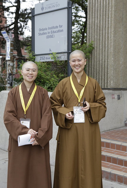 Venerable Miao Ying and Venerable Miao Jing