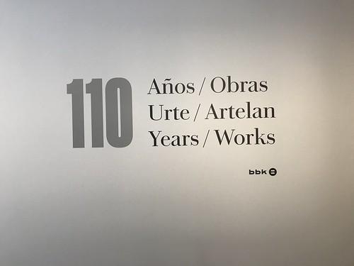 110 Años / 110 Obras. Museo de Bellas Artes de Bilbao