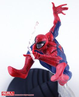 在空中飛躍的姿態超動感立體化!! CREATOR × CREATOR Marvel Comics【蜘蛛人】Spider-Man 開箱報告