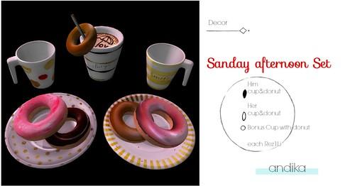 AD andika[Sunday afternoon]Decor