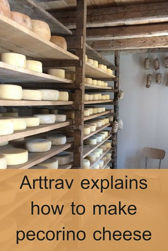 Arttrav explains how to make pecorino cheese