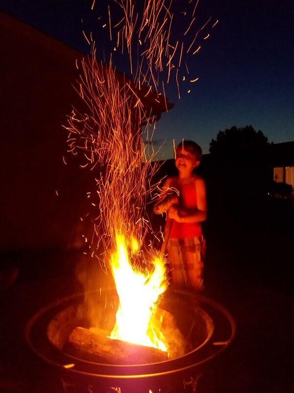 Fire and Glow Sticks (2)