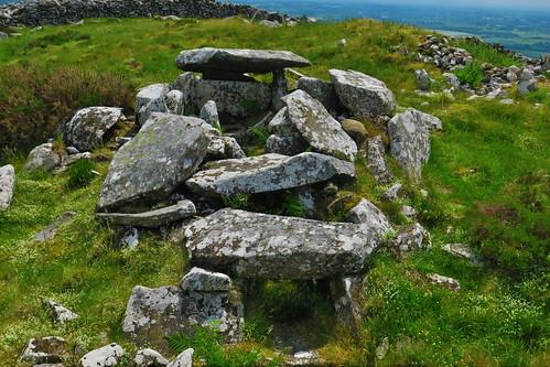 Coolinarrig Upper Passage Tomb Summit of Baltinglass Hill.