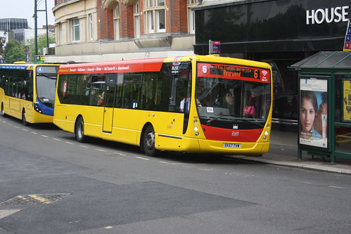 Yellow Buses 803 DX57TVW