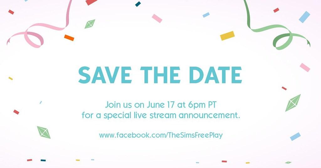 Foto de The Sims FreePlay: Transmissão Ao Vivo para Anúncio Especial