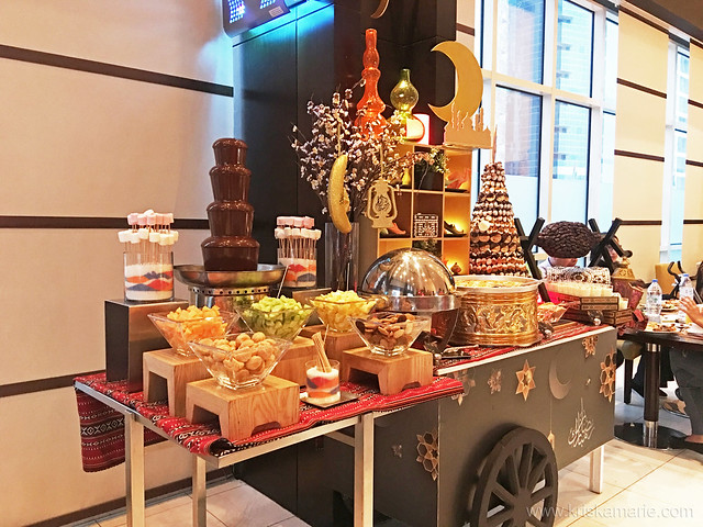 Chocolate Fountain and Local Desserts at Media Rotana