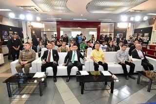 แถลงข่าว การจัดงานโครงการส่งเสริมการท่องเที่ยวเชิงวัฒนธรรมในพื้นที่กลุ่มจังหวัดภาคใต้ฝั่งอ่าวไทย กิจกรรมสนับสนุนมวยไชยาสู่นานาชาติ peebao.com คนใต้บ้านเรา (6)