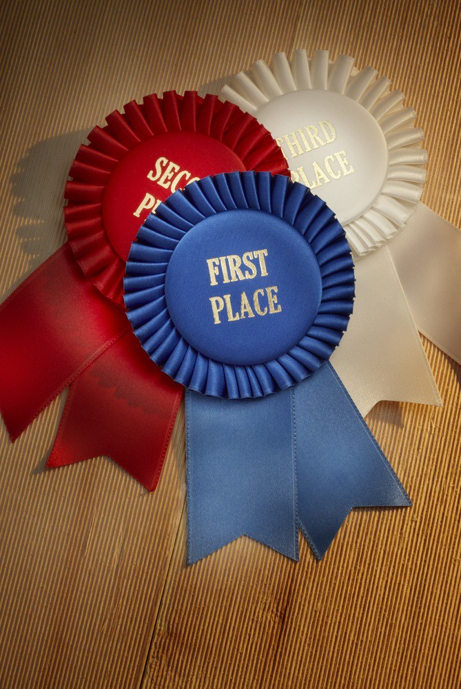 photo of prize ribbons