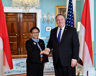 Secretary Pompeo Welcomes Indonesian Foreign Minister Marsudi to Washington