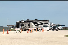 Camping on Padre Island