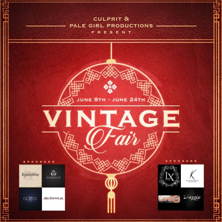 Vintage Fair 2018 - June 8th - June 24th