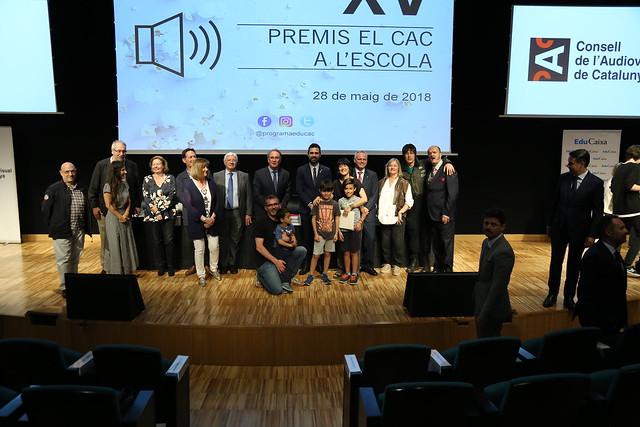 XV Premis el CAC a l'escola