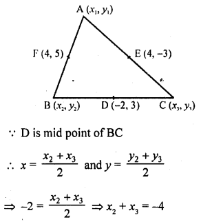 RD Sharma Class 10 Solutions Co-Ordinate Geometry