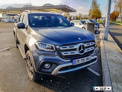 Mercedes Benz X Class France 2018
