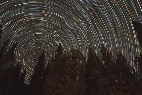Yosemite Startrail