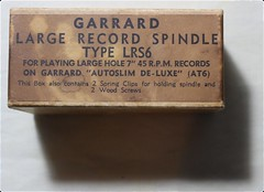 Garrard Large Record Spindle LRS6