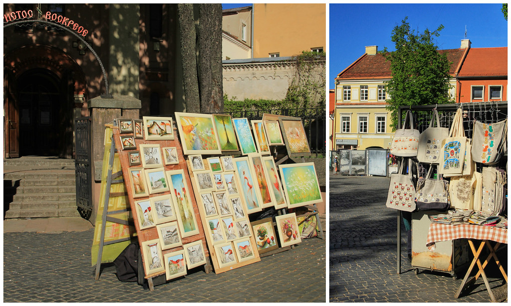 Outdoor markets, Vilnius