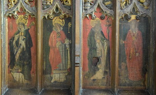 St Ambrose, St Augustine, St Gregory, St Jerome (15th Century)